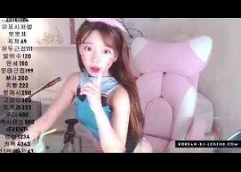 【ライブチャット】めっちゃ激かわ韓国人巨乳美女の素人ライブチャット動画個人撮影生配信えちえちコスプレ