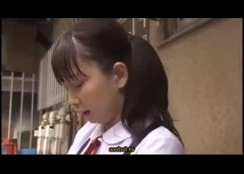 嫌がる幼いJC風の制服姿な女子をめちゃくちゃにレイプする野外露出青姦イラマチオレイプ