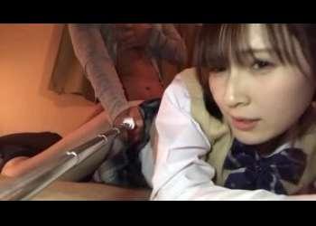 素人彼女との個人撮影JKコスプレセックスがリベンジポルノ流出!手マン手コキ足コキバックガン突きのリアルガチな高画質映像がエロい