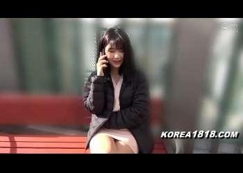 韓国人美女の超エロい巨乳騎乗位セックス!普通のコリアン美女と素人ハメ撮りエッチ