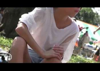 【盗撮】素人JC風のロリパンチラ美少女ちゃんがエロい姿を見られちゃう個人撮影映像