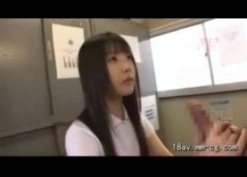 【麻倉憂×つぼみ】女教師も生徒JKも性処理玉舐め手コキフェラ抜きさせられてご奉仕するロリっ子がエロい
