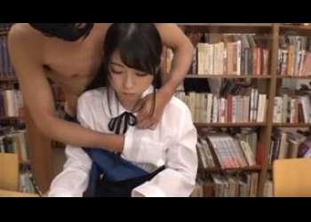 【あおいれな】スレンダー美脚美少女JKが透明人間らしき覆面男に痴漢レイプされまくってるセクハラ行為
