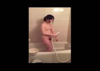 JCみたいなロリっ子との個人撮影素人映像!フェラ抜きやお風呂をリベンジポルノ流出されちゃうポニーテール美少女学生激かわ!