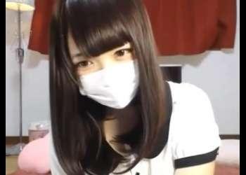 【ライブチャット】超特級レベルの激かわ美少女がマスク姿で素人ライブチャット動画個人撮影生配信しててマジ興奮すること確定