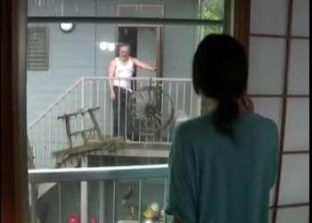 ♡隣のおじさんに犯されたい娘「オナを見せつけて誘惑しちゃう変態女♡」招き入れたチンポで犯されるおマンコ
