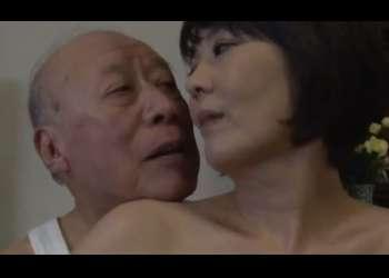 ♡78歳義父のチンポに痺れる48歳未亡人の嫁♡旦那を亡くしておマンコが疼く嫁の性欲をまだ現役のお爺ちゃんが満たす