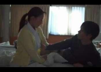 ♡「看護師さん…溜まっちゃった♡」入院患者の精子を搾り取っちゃう人妻ナーズ…欲求不満おマンコは猿チンポを挿入♡