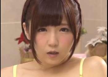 ♡佐倉梓♡おマンコがローションとマン汁・愛液でぬりゅぬるになっちゃう♡手マン・バイブオナニーでパイパンおマンコ痙攣