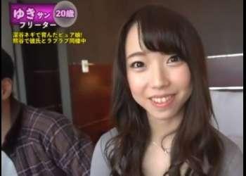 ♥埼玉で見つけた極上おマンコと爆乳お姉さん♥顔射でザーメンまみれにしちゃた可愛い少女は生ハメで喘ぎ狂っちゃう