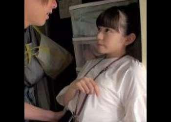 【SOD女子社員/中原愛子】恥ずかしがり克服で決意のAV出演!恥じらいMAXの純真娘が緊張しながら感じるガチンコハメ撮り