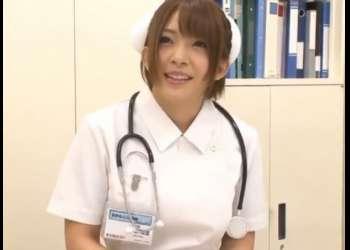[麻里梨夏]1日看護師になってもらい口淫のみで患者さんを射精処置!ジュボジュボ肉棒しゃぶりフェラw