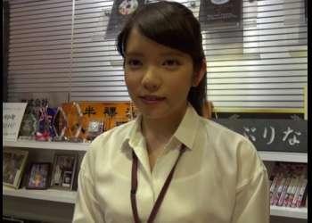 [中原愛子]最も恥ずかしがり屋とも言われるOL女子社員が机の下でマ〇コを弄りアヘアへ!