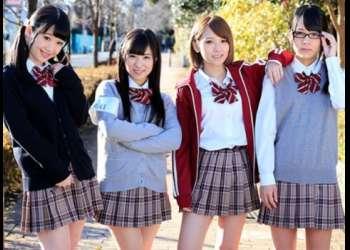 [椎名そら 姫川ゆうな あべみかこ 栄川乃亜]女子校生の想い出…無邪気に中出ししまくったあの頃…