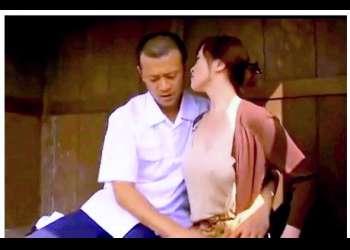 【ヘンリー塚本】これはやばい不倫バカップルの禁断の愛のドラマ!ヘチマ畑の中でヤリまくりです!
