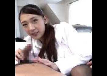 《香椎りあ》でかちん目にしたえっちすぎる看護師がお誘い♡女医立ちによる自分のマンコ使ったエッチな検査♡