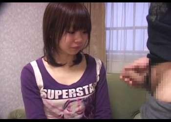 センズリ鑑賞 あどけないロリ娘の21歳ゆりちゃん♡フェラをしたら最後は大量のザーメンで顔射きめられちゃう!
