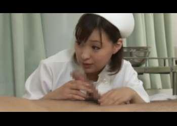 【周防ゆきこ】可愛くて優しい癒し系新米ナースが手コキとフェラで患者さんの性欲解消をサポート