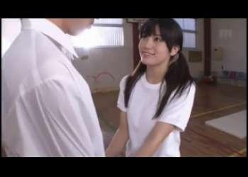 【高橋しょう子】ブルマ姿の巨乳美少女JKたかしょーが興奮した同級生男子をパイズリ抜き