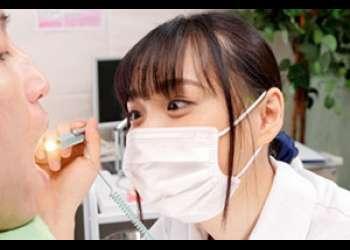 夢のような歯医者さん!可愛い歯科衛生士さんがディープキスで責めてくる!