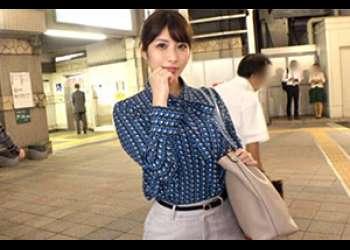東中野駅で出会った綺麗なOLさんはHな質問も余裕の受け答え。ムッチリお尻を撫でながらちんこ挿れたら即堕ち!