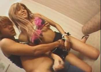 素人生ドル21 黒ピンクのくそエロい下着の茶髪ギャル!拒否してた本番をなし崩しで3Pセックスに持ち込まれる♡