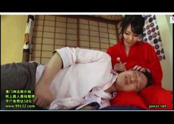 【Hitomi】これはエロいデカパイ耳かき店!チンポ寸止めでもう我慢ができません!