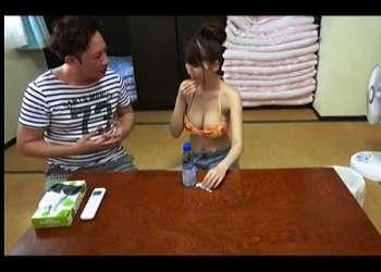【三原ほのか】企画ビデオに出たばかりのデカパイお姉さんをさらにナンパ!