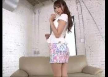 【蓮実クレア】スレンダー美脚巨乳で超エロいボディを持つエロい顔した茶髪ロングヘアギャル厚化粧が逆にエロい