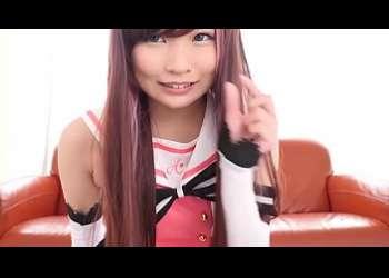 【枢木あおい】超特級美少女キズナアイコスプレイヤー姿でベロチューエッチニーハイエロすぎる