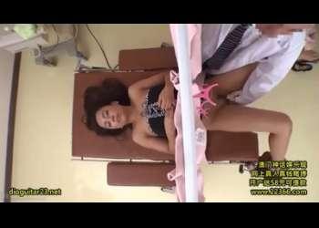 【盗撮レイプ】黒ギャル人妻松本メイちゃんパコられまくってる診察レイプ産婦人科寝取られレイプ