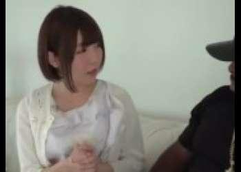 【佐倉絆】茶髪ショートカットヘア小柄ロリパイパン貧乳美少女が超弩級黒人デカマラと対戦