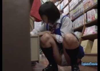 超かわいい図書館店員JKがパンチラしてたのでめちゃくちゃ犯したくなってレイプしちゃったJKレイプ