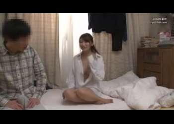 【三原ほのか】超エロい彼シャツ姿の巨乳痴女な友達の彼女に誘われてついつい浮気セックス背徳感MAX