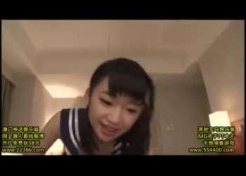 【姫川ゆうな】超ロリビッチ小柄貧乳JKコスプレ主観プレイの手コキフェラ抜き