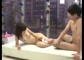【マジックミラー号】貧乳スレンダー美脚友達女子とやっちゃう素人ナンパで捕まえた素人モニタリングエッチ