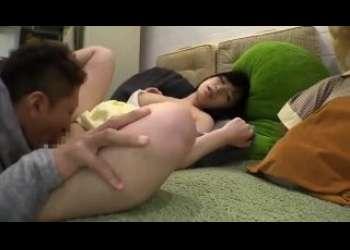 小柄ロリ童顔でかわいいのにめっちゃ大きいおっぱい持ってるロリ巨乳美少女クンニ