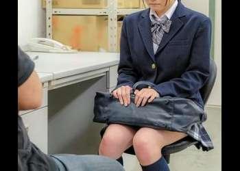 万引き女子校生をヤリタイ放題!制服着衣のまま強制挿入!
