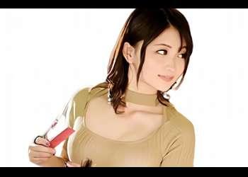 【妃月るい】むちむち巨乳の淫乱痴女が働いている美容室、気に入った男性客を誘惑して乳首舐め&手コキ抜き!!