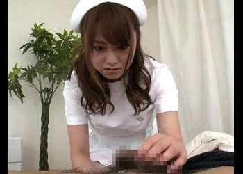 【吉沢明歩】検温の間もパンパンに溜まった患者さんのザーメンチンポを咥えてくれるドスケベ巨乳ナース!