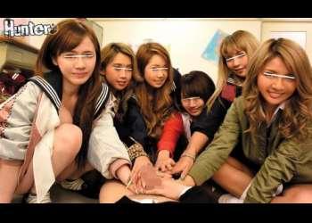 【ハーレム】どヤンキー女生徒の集まる学校でクラスでたった一人の男の僕の童貞棒をイタズラされちゃう!