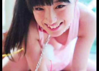 大島珠奈|こんなかわいい美少女がダルダルタンクトップで胸チラ♡キレキレ極小Tバックでマンチラ過激着エロ♡