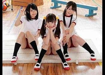 3人のガチロリな女子小学生♡ 学校を乗っ取りながらメンズを倒して淫欲を満たしながら種付けをされまくる!