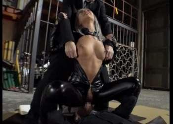 【レイプ】黒ギャル潜入捜査官が敵に囚われ屈辱の監禁生活! 雌犬調教され性奴隷に堕とされていく…!【AIKA】