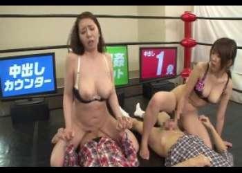 【近親相姦】【企画】親子で腰をフルどエロな巨乳の変態母と娘♡