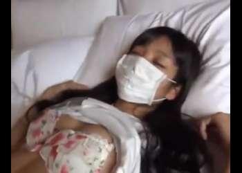 睡眠薬で眠らせた少女を昏睡レイプ!