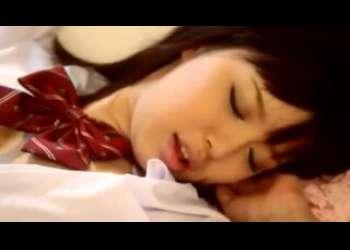 かわいいスレンダー美脚美少女JKの葵つかさちゃんが濃厚ベロチューエッチで感じてる様子がキュンキュン