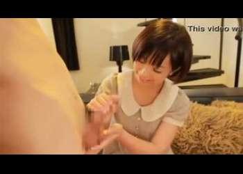 【紗倉まな】超激ロリ童顔巨乳美少女、まなちゃんのしこしこ手コキフェラ抜きかわいすぎる天真爛漫笑顔