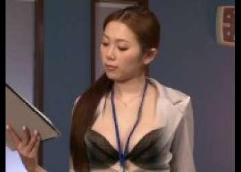 【小川あさ美】激エロ痴女OL抜きまくり手コキフェラ抜きでエロすぎるずらしハメ