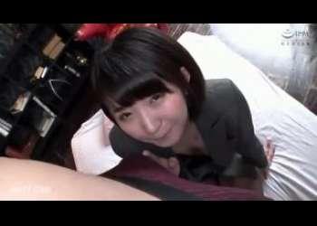 【深田結梨】かわいいショートカットヘアOLのお姉さんと仕事サボって生ハメ生中出しセックス
